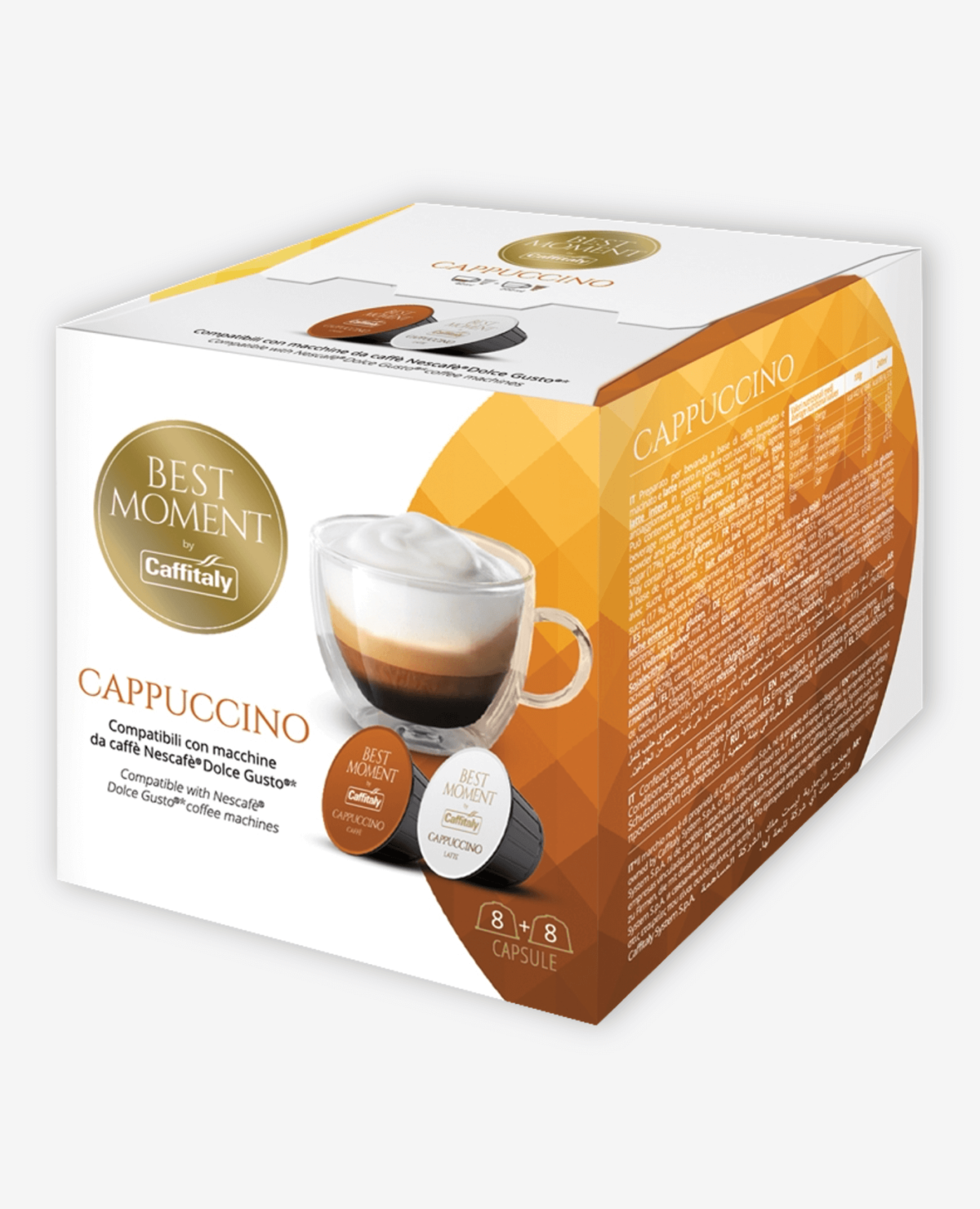 Kapsułki Caffitaly Best Moment Cappuccino do systemu Dolce Gusto