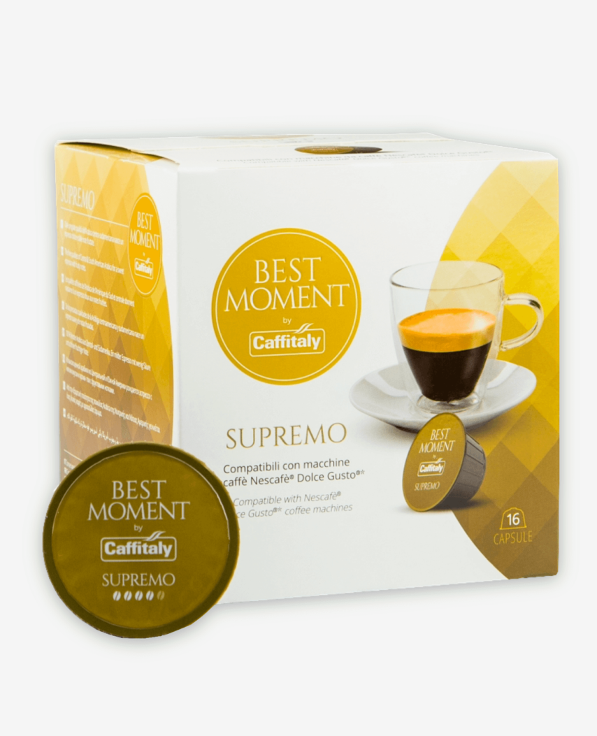 Kapsułki Caffitaly Best Moment Supremo do systemu Dolce Gusto